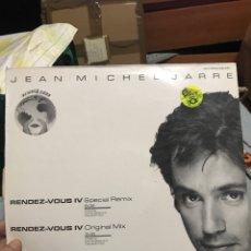 Discos de vinilo: JEAN MICHEL JARRE . RENDEZ VOUS 4 M/S. Lote 257723200
