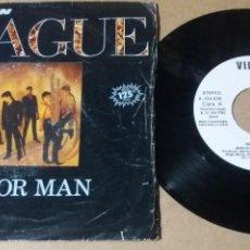Discos de vinilo: THE HUMAN LEAGUE / MIRROR MAN / SINGLE 7 PULGADAS. Lote 257725720