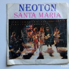 Discos de vinilo: NEOTÓN-SANTA MARÍA + RIGUEIRA-VAMOS A LA PLAYA. Lote 257725965