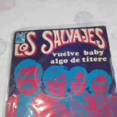 Discos de vinilo: LOS SALVAJES,DISCO. Lote 257726785