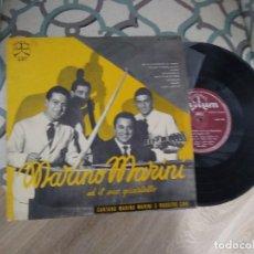 """Discos de vinilo: MARINO MARINI ED IL SUO QUARTETTO / 25 CM 10"""" 33 RPM / DURIUM COMO NUEVO. Lote 257728010"""