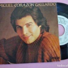 Discos de vinilo: MIGUEL GALLARDO - CORAZON. Lote 257728435