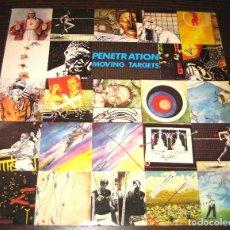 Discos de vinilo: PENETRATION - MOVING TARGETS - VIRGIN 1978 UK - ED LIMIT - VINILO BRILLA EN LA OSCURIDAD!!!. Lote 257732275