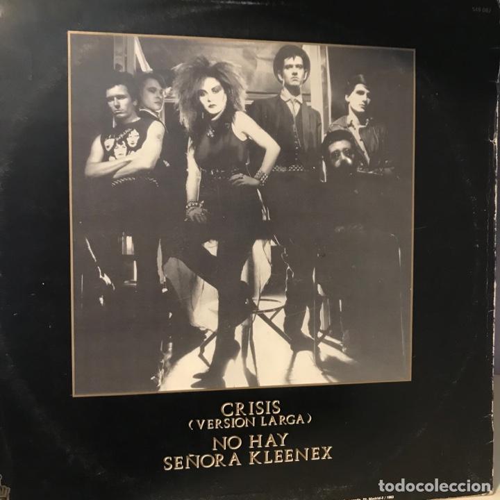 Discos de vinilo: Dinarama + Alaska – Crisis - Foto 2 - 257735490