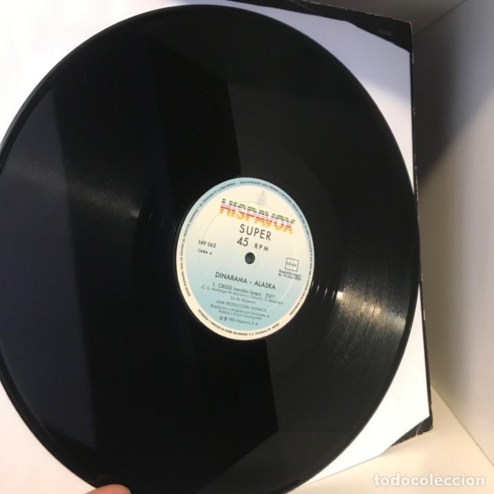Discos de vinilo: Dinarama + Alaska – Crisis - Foto 3 - 257735490
