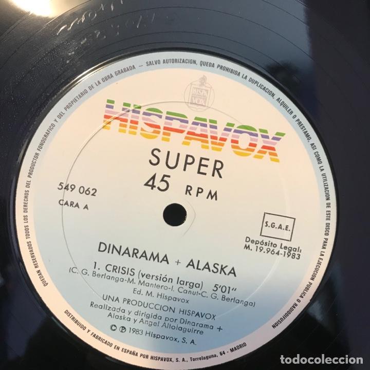 Discos de vinilo: Dinarama + Alaska – Crisis - Foto 4 - 257735490