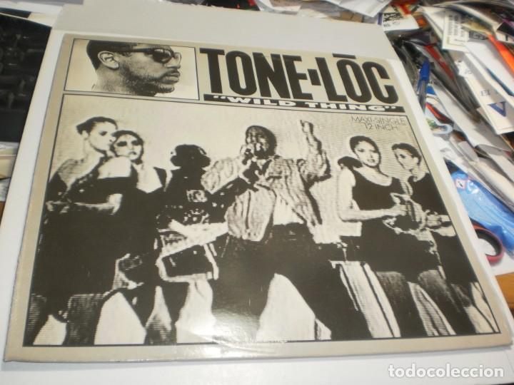 MAXI SINGLE TONE-LOC. WILD THING. DELICIOUS 1989 SPAIN (PROBADO, BIEN, SEMINUEVO) (Música - Discos de Vinilo - Maxi Singles - Rap / Hip Hop)