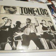 Discos de vinilo: MAXI SINGLE TONE-LOC. WILD THING. DELICIOUS 1989 SPAIN (PROBADO, BIEN, SEMINUEVO). Lote 257736820