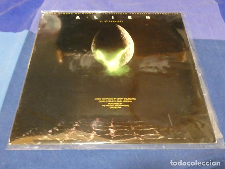 DISCAZO BRUTAL BSO PELI ALIEN EL OCTAVO PASAJERO JERRY GOLDSMITH 1979 MUY BUEN ESTADO (Música - Discos - LP Vinilo - Pop - Rock - Internacional de los 70)