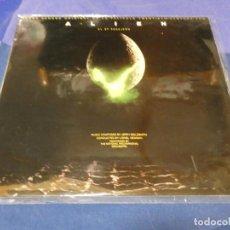 Discos de vinilo: DISCAZO BRUTAL BSO PELI ALIEN EL OCTAVO PASAJERO JERRY GOLDSMITH 1979 MUY BUEN ESTADO. Lote 257736955