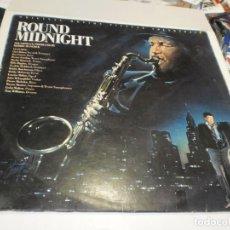 Discos de vinilo: LP ROUND MIDNIGHT. CBS 1986 SPAIN (PROBADO Y BIEN). Lote 257737800