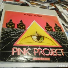 Discos de vinilo: MAXI SINGLE PINK PROJECT. MAGIC FLIGHT. BABY RECORDS 1983 SPAIN (PROBADO, BUEN ESTADO). Lote 257738935