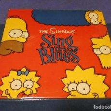 Discos de vinilo: PRECIOSO LP THE SIMPONS SING THE BLUES MUY BUEN ESTADO GENERAL TIENE ENCARTE. Lote 257739205