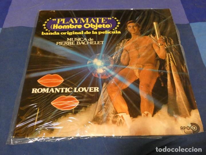 LP BSO OST BANDA SONORA PLAY MATE HOMBRE OBJETO PIERRE BACHELET 1978 BUEN ESTADO (Música - Discos - LP Vinilo - Pop - Rock - Internacional de los 70)