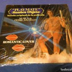 Discos de vinilo: LP BSO OST BANDA SONORA PLAY MATE HOMBRE OBJETO PIERRE BACHELET 1978 BUEN ESTADO. Lote 257739315