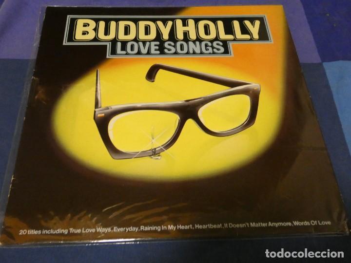 LP ROCK DE LOS 50 BUDDY HOLLY LOVE SONGS ALEMANIA 81 MUY BUEN ESTADO (Música - Discos - LP Vinilo - Pop - Rock - Internacional de los 70)