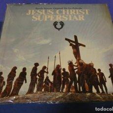 Discos de vinilo: DOBLE LP BSO OST BANDA SONORA JESUCRISTO SUPERSTAR ESPAÑOL BUEN ESTADO TAPA AMARILLEA UN POCO. Lote 257740880