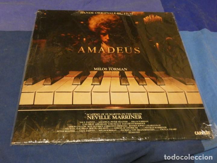 BESTIAL DOBLE LP BSO OST BANDA SONORA BUEN ESTADO AMADEUS MUSICA DE NEVILLE MARRINER MILOS FORMAN (Música - Discos - LP Vinilo - Pop - Rock - Internacional de los 70)