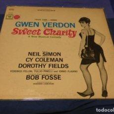 Discos de vinilo: LP DEL MUSICAL SWEET CHARITY SOBRE IDEA DE FEDERICO FELLINI BUEN ESTADO CIRCA 1969. Lote 257741105