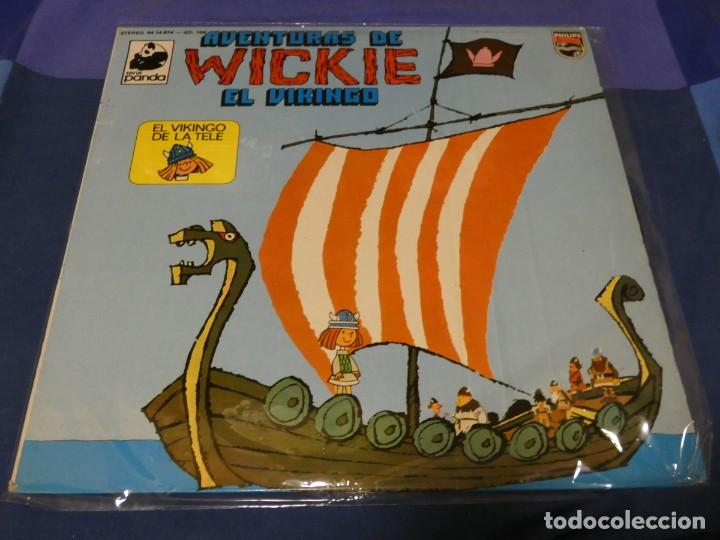 PRECIOSO LP AVENTURAS DE WICKIE VICKY EL VIKINGO 1975 MUY BUEN ESTADO DE DISCO (Música - Discos - LP Vinilo - Pop - Rock - Internacional de los 70)