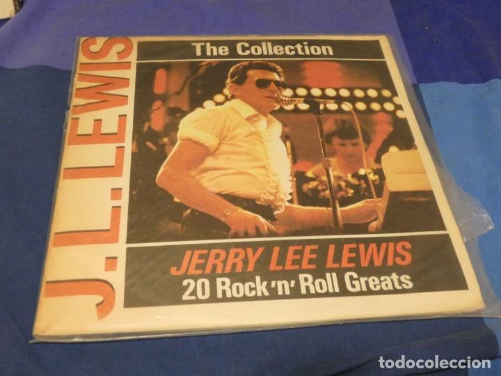 LP BULGARIA CIRCA 1984 JERRY LEE LEWIS 20 ROCK AND ROLL GREATS VINILO BIEN TAPA FRAGIL (Música - Discos - LP Vinilo - Pop - Rock - Internacional de los 70)