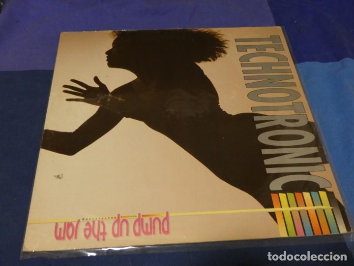 LP TECHNOTRONIC PUMP UP THE JAM AÑOS 80 ESTADO GENERAL CORRECTO 28 (Música - Discos - LP Vinilo - Pop - Rock - Internacional de los 70)