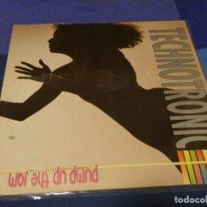 Discos de vinilo: LP TECHNOTRONIC PUMP UP THE JAM AÑOS 80 ESTADO GENERAL CORRECTO 28. Lote 257741835