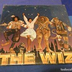 Discos de vinilo: DOBLE LP USA 78 BUEN ESTADO GENERAL CON POSTER MICHAEL JACKSON DEL DIARREICO FILM THE WIZ. Lote 257741930