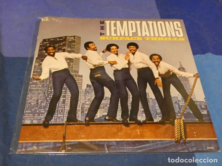 LP THE TEMPTATIONS SURFACE TRILLS USA 1983 MUY BUEN ESTADO DE DISCO (Música - Discos - LP Vinilo - Pop - Rock - Internacional de los 70)