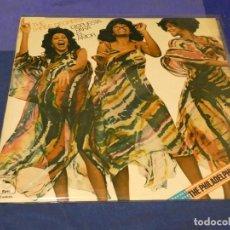 Discos de vinilo: LP THE THREE DEGREES DISPUESTA PARA EL AMOR SONIDO FILADELFIA ESPAÑA 77 MUY BUEN ESTADO. Lote 257742555