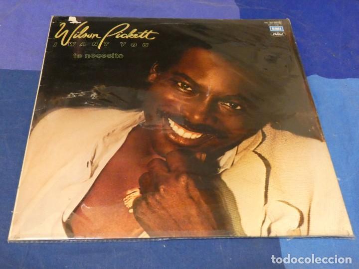LP WILSON PICKETT ESPAÑA 1979 I WANT YOU MUY BUEN ESTADO DE VINILO I WANT YOU (Música - Discos - LP Vinilo - Pop - Rock - Internacional de los 70)