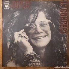 Discos de vinilo: JANIS JOPLIN - IN CONCERT. 2 LPS . AÑO 1972. EDITADO POR CBS. Lote 257743860
