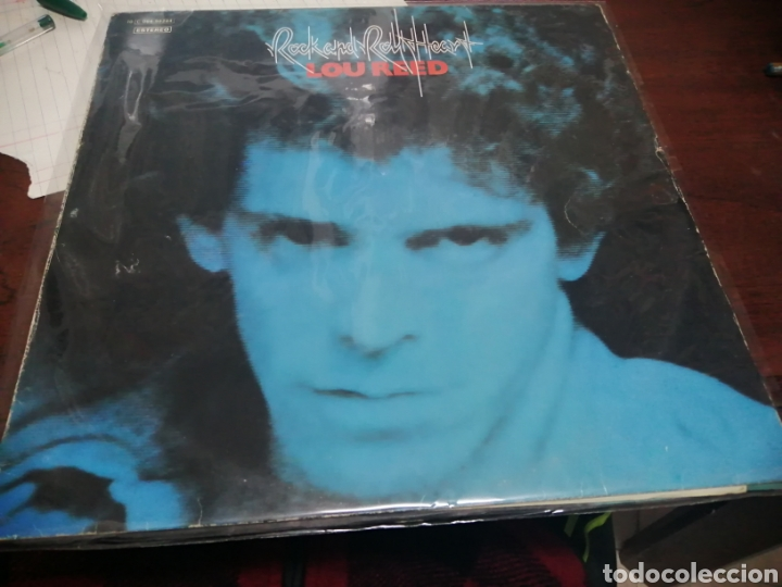 LP LOU REED ROCK AND ROLL HEART 1976 LEVES SEÑALES USO TAPA Y DISCO AUN MUY CORRECTO (Música - Discos - LP Vinilo - Pop - Rock - Internacional de los 70)