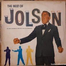 Discos de vinilo: AL JOLSON- THE BEST OF AL JOLSON- 1962. Lote 257743920