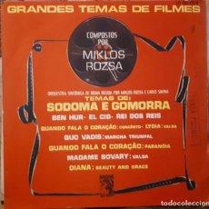 Discos de vinilo: MIKLOS ROZSA - TEMAS DE PELÍCULAS COMPUESTAS POR MIKLOS ROZSA. Lote 257744110