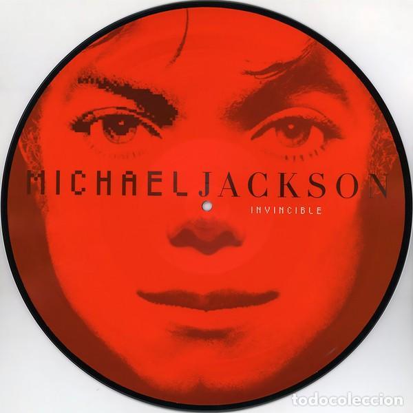 Discos de vinilo: MICHAEL JACKSON INVINCIBLE 2 LPs PICTURE NUEVO - Foto 2 - 257746395