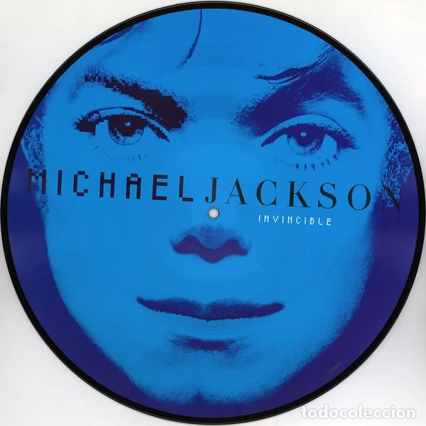Discos de vinilo: MICHAEL JACKSON INVINCIBLE 2 LPs PICTURE NUEVO - Foto 4 - 257746395