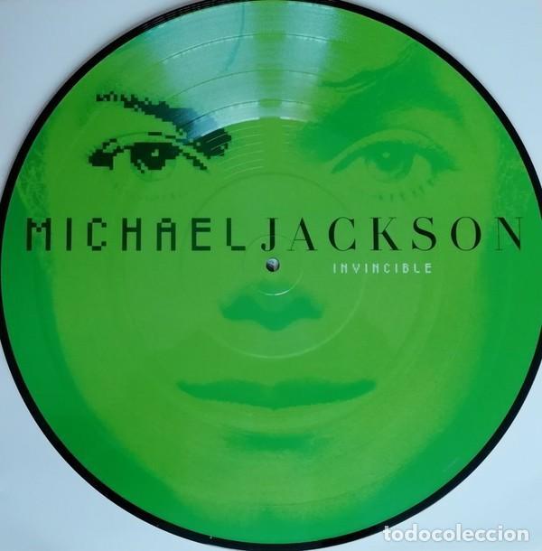 Discos de vinilo: MICHAEL JACKSON INVINCIBLE 2 LPs PICTURE NUEVO - Foto 5 - 257746395