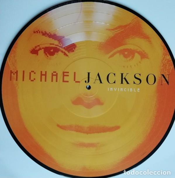 Discos de vinilo: MICHAEL JACKSON INVINCIBLE 2 LPs PICTURE NUEVO - Foto 7 - 257746395