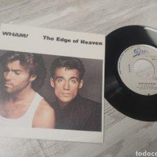 Discos de vinilo: MINI VINILO WHAM THE EDGE OF HEAVEN. Lote 257765095