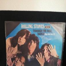Discos de vinilo: THE ROLLING STONES - THROUGH THE PAST, DARKLY (BIG HITS VOL. 2), OCTOGONO LABEL, 1969 ESPAÑA, BUEN E. Lote 257766635