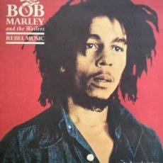 Discos de vinilo: BOB MARLEY & THE WAILERS-REBEL MUSIC. Lote 257780190