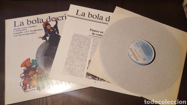 Discos de vinilo: L.P. - La bola de cristal - TV BSO LP 1985 Hispavox - LOQUILLO ALASKA ELECTRODUENDES - Foto 3 - 257800310