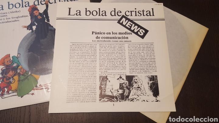Discos de vinilo: L.P. - La bola de cristal - TV BSO LP 1985 Hispavox - LOQUILLO ALASKA ELECTRODUENDES - Foto 4 - 257800310