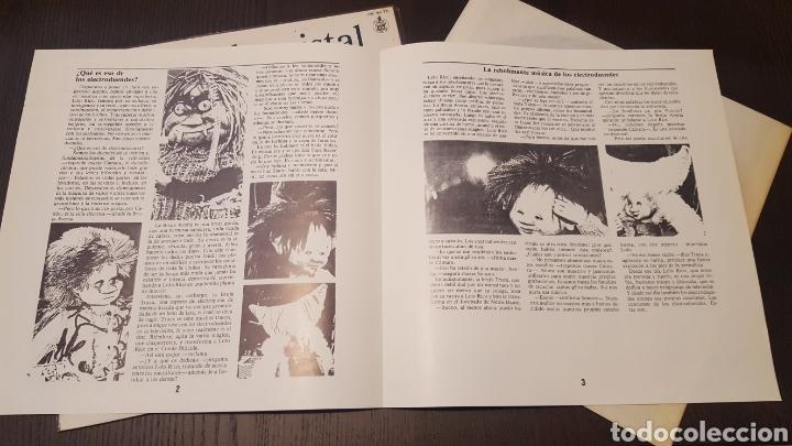 Discos de vinilo: L.P. - La bola de cristal - TV BSO LP 1985 Hispavox - LOQUILLO ALASKA ELECTRODUENDES - Foto 5 - 257800310