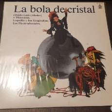 Discos de vinilo: L.P. - LA BOLA DE CRISTAL - TV BSO LP 1985 HISPAVOX - LOQUILLO ALASKA ELECTRODUENDES. Lote 257800310