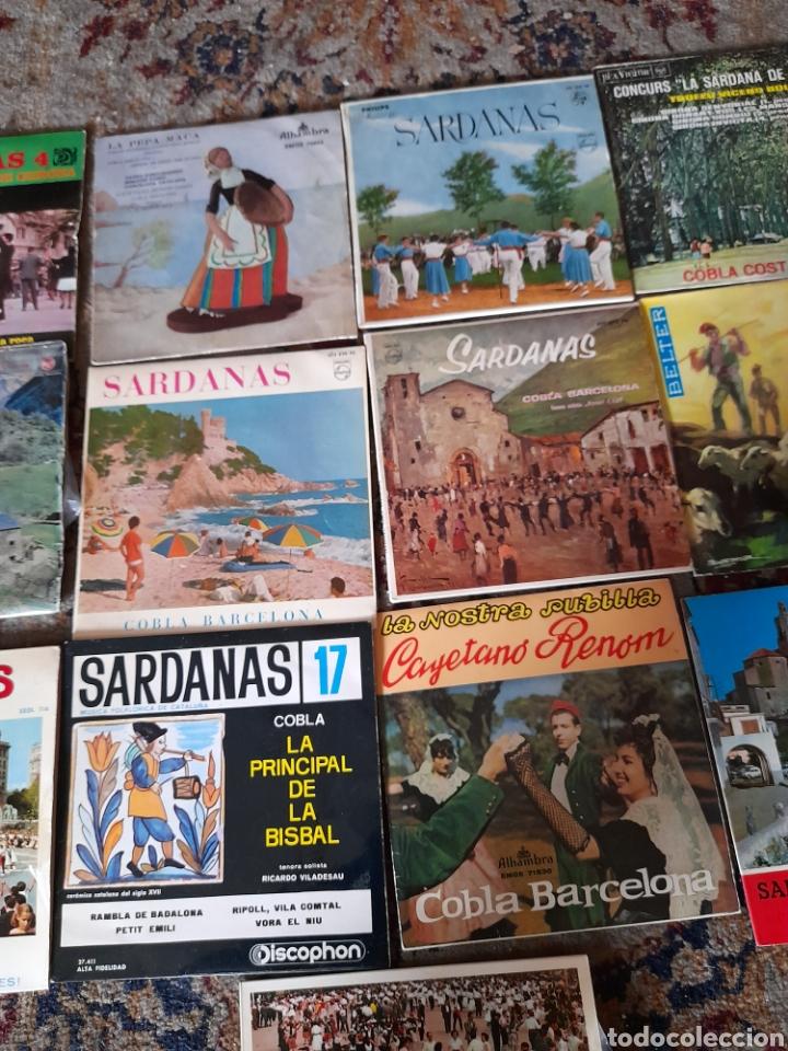 Discos de vinilo: Lote de 13 antiguos ,vinilos de Sardanas, a estrenar - Foto 3 - 257809615
