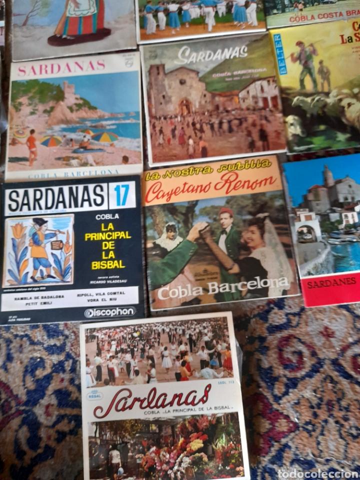 Discos de vinilo: Lote de 13 antiguos ,vinilos de Sardanas, a estrenar - Foto 5 - 257809615