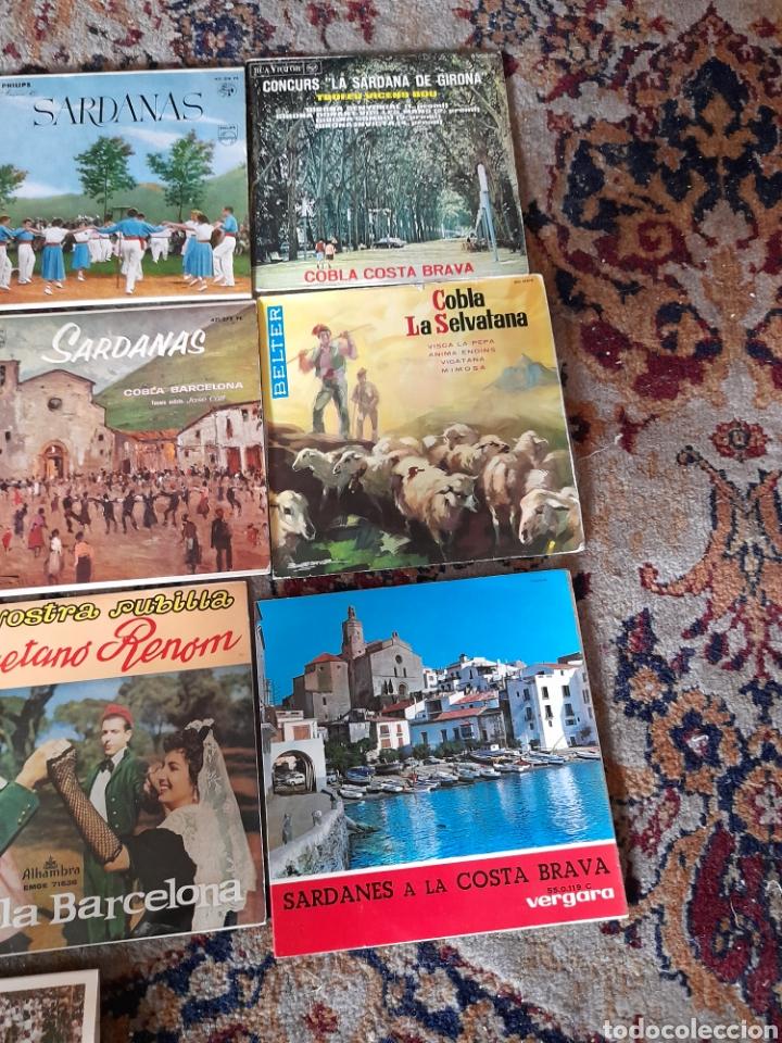 Discos de vinilo: Lote de 13 antiguos ,vinilos de Sardanas, a estrenar - Foto 6 - 257809615