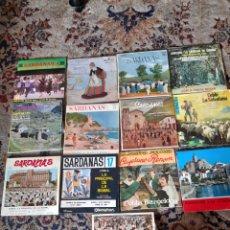 Discos de vinilo: LOTE DE 13 ANTIGUOS ,VINILOS DE SARDANAS, A ESTRENAR. Lote 257809615